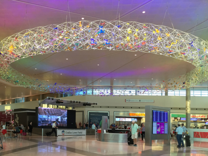 Dallas Love Field Airport is the main international airport serving Dallas, Texas, USA.